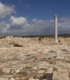 古希腊城市的废墟在塞浦路斯 库存照片