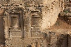 古希腊城市的废墟在塞浦路斯 免版税图库摄影