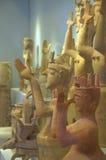 古希腊小雕象 免版税库存照片