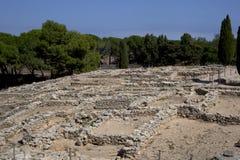 古希腊废墟在Empuries 免版税图库摄影