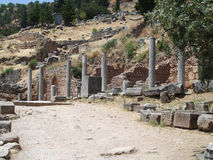 古希腊的风景 图库摄影