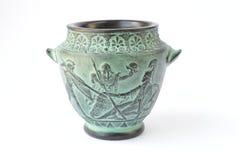 古希腊缸 免版税库存照片