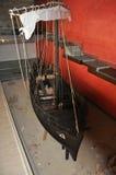 古希腊船的恢复 免版税库存照片