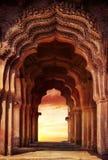 古庙在印度 库存图片