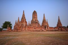 古庙在泰国 免版税库存照片