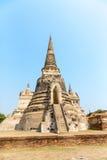 古庙在泰国 免版税库存图片