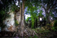 古庙在泰国11 库存照片