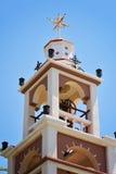 古庙在罗得岛 免版税库存图片