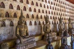 古庙在老挝 库存照片