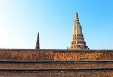古庙在Ayuddhaya 库存图片