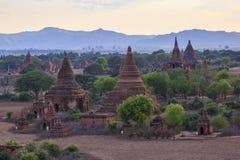 古庙在Bagan缅甸 免版税图库摄影