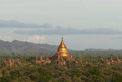 古庙在Bagan,缅甸 库存图片