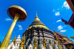古庙在Lampang 图库摄影