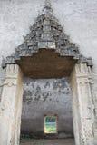 古庙在Sankhlaburi 免版税库存照片
