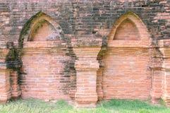 古庙墙壁 免版税库存图片