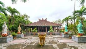 古庙的建筑秀丽在乡下 库存图片