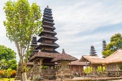 古庙, Pura塔曼阿云寺,巴厘岛 免版税库存图片
