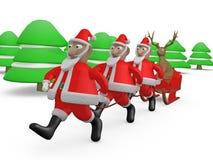 古怪的圣诞节 免版税库存照片