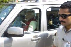 古杰雷特首席部长和BJP头等部长c 免版税库存图片
