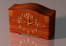 古板的台式时钟 免版税图库摄影