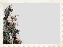古板的圣诞节 图库摄影
