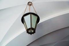 古板的室外灯 免版税库存照片