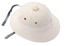 古板的帽子的委员 库存照片