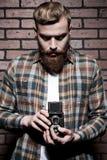 古板的摄影师 免版税图库摄影