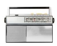 古板的收音机 图库摄影