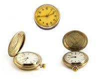 古板的时钟 图库摄影