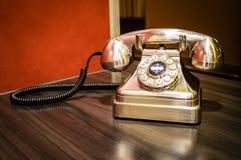 古板的电话 免版税图库摄影