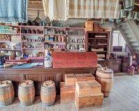 古板的百货商店-旧世界威斯康辛 图库摄影