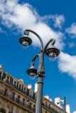 古板的街灯,马赛,法国 免版税库存照片