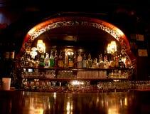 古板的西部雅座酒吧 图库摄影