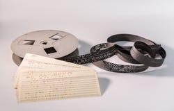 古板的记忆工具 免版税库存照片