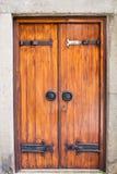 古板的门 免版税库存图片