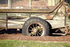 古板的Spoked轮子 免版税图库摄影