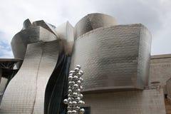 古根海姆美术馆毕尔巴鄂 免版税库存图片
