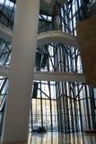 古根海姆美术馆的内部在毕尔巴鄂 免版税库存照片