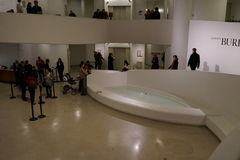 古根海姆美术馆纽约17 免版税库存照片
