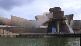 古根海姆美术馆,毕尔巴鄂,西班牙 股票录像