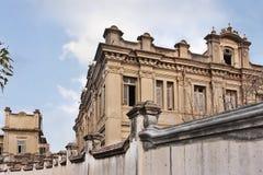 古法语样式殖民地大厦,钢琴海岛,中国 免版税库存图片
