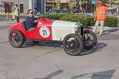 古法语汽车汽车Amilcar CGSS (1928) 免版税库存照片