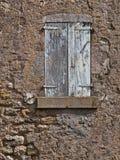 古法语议院的门面 免版税库存图片