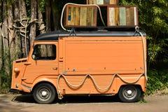 古法语轻型货车 免版税库存照片