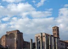 古罗马广场 免版税库存图片