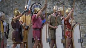 古罗马民用争斗 影视素材
