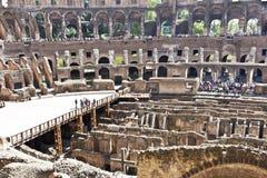 古罗马的罗马斗兽场壮观的纪念碑在意大利 库存照片