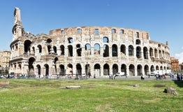 古罗马的罗马斗兽场壮观的纪念碑在意大利 库存图片