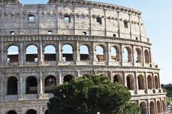 古罗马的罗马斗兽场壮观的纪念碑在意大利 图库摄影